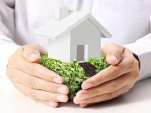 оформление дома если земля в собственности