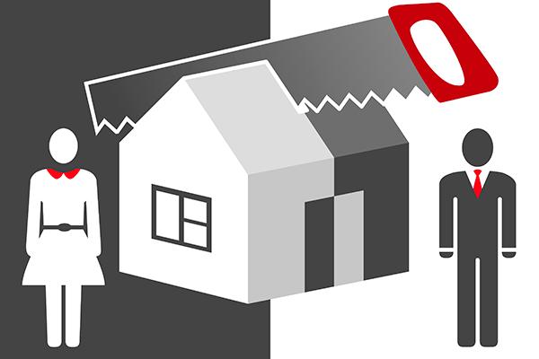 Раздел совместной собственности супругов